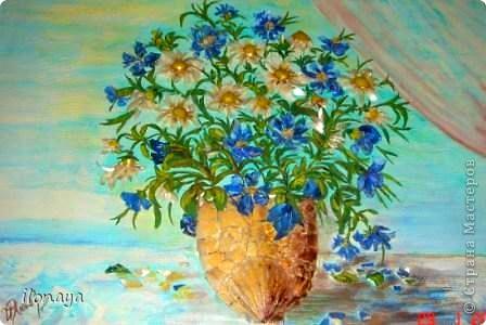 Цветок из подручного материала своими руками