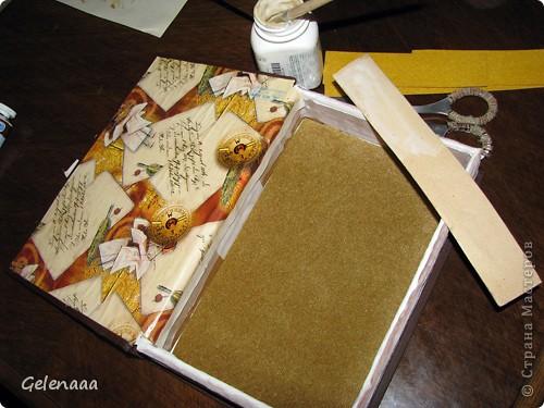 Декор предметов, Мастер-класс: Книга-шкатулка 23 февраля, 8 марта, День рождения, День учителя. Фото 11