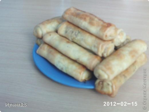 """Мастер-класс Рецепт кулинарный: Пирожки с капустой """"трубочки"""" Тесто для выпечки. Фото 1"""
