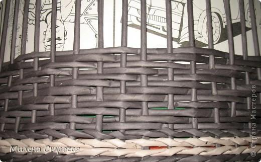 Мастер-класс Декупаж, Плетение: Шляпная коробка Бумага газетная, Салфетки. Фото 4