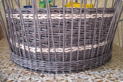 Мастер-класс Декупаж, Плетение: Шляпная коробка Бумага газетная, Салфетки. Фото 10