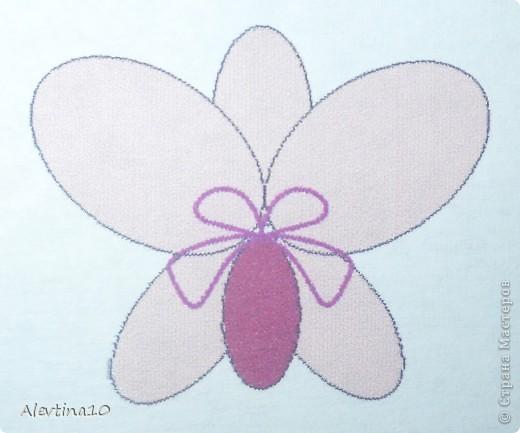 Мастер-класс Бисероплетение: Орхидея из бисера.  МК Бисер.  Фото 8.