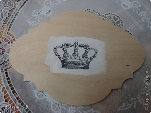 Декор предметов, Мастер-класс Декупаж: Перевод распечатки акрилом. Фото 1