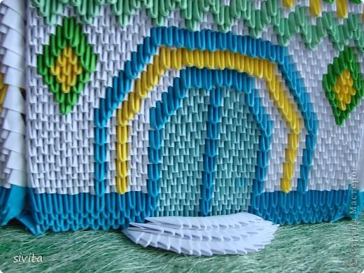 Поделка, изделие Оригами модульное: Церковь. Бумага. Фото 7