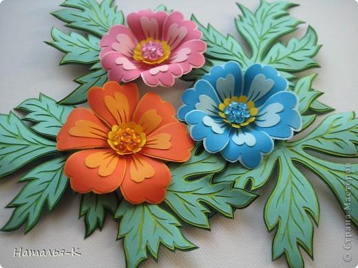 Бумагопластика: Цветы.