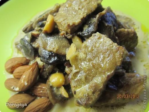 Кулинария, Мастер-класс Рецепт кулинарный: Миндальное мясо Продукты пищевые. Фото 1