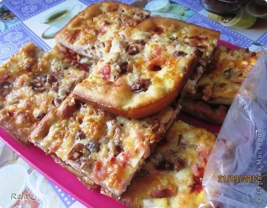 Пицца рецепт мягкого теста на дрожжах