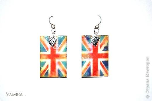 британский флаг из пластики