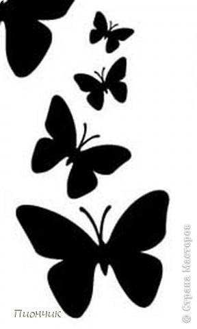 Бабочки для поделок из бутылок 73