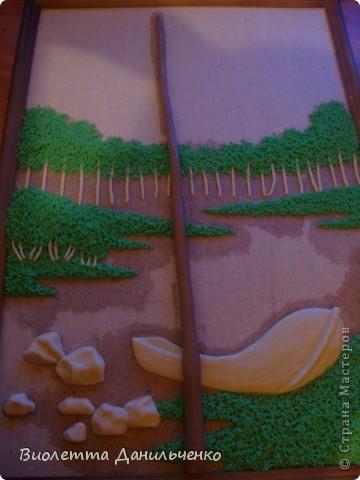 Мастер-класс Лепка: МК по лепке картины за 2 часа(легкий способ) Тесто соленое Отдых. Фото 15
