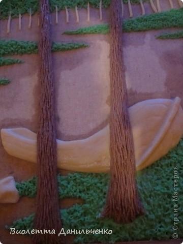 Мастер-класс Лепка: МК по лепке картины за 2 часа(легкий способ) Тесто соленое Отдых. Фото 18