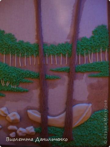 Мастер-класс Лепка: МК по лепке картины за 2 часа(легкий способ) Тесто соленое Отдых. Фото 19