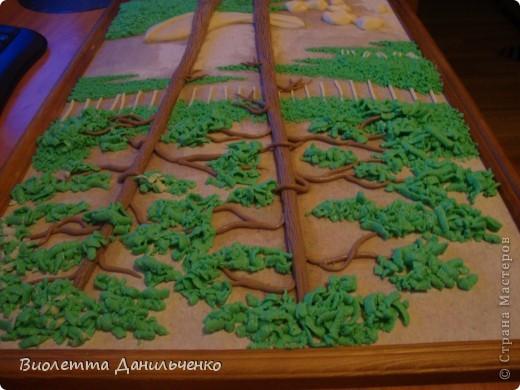 Мастер-класс Лепка: МК по лепке картины за 2 часа(легкий способ) Тесто соленое Отдых. Фото 27