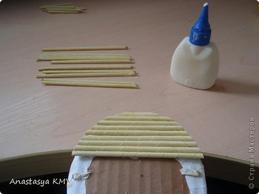 Мастер-класс, Поделка, изделие Плетение: Башмак плетеный из бумаги МК (мастер-класс). Бумага. Фото 16