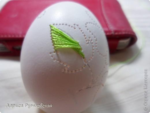 Мастер класс вышивки по яйцу