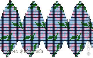 Поделка, изделие Бисероплетение: Бисерные яйца. Схемы Бисер Пасха. Фото 7