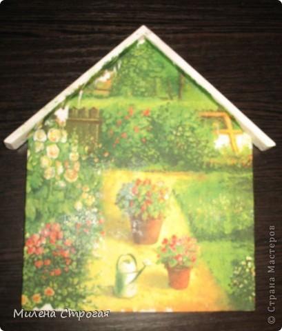 Декор предметов Декупаж: Ключница-оберег (продолжение...) Салфетки. Фото 9