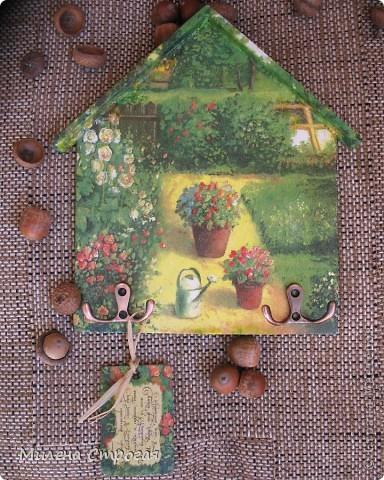 Декор предметов Декупаж: Ключница-оберег (продолжение...) Салфетки. Фото 11