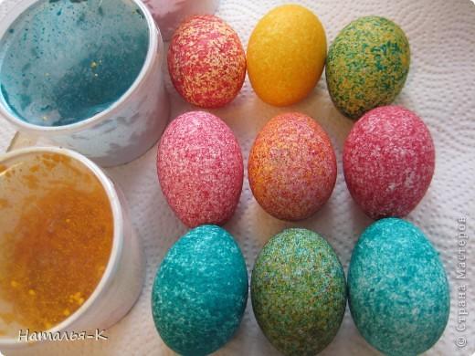 Мастер-класс: Покраска яиц. Краска Пасха. Фото 11
