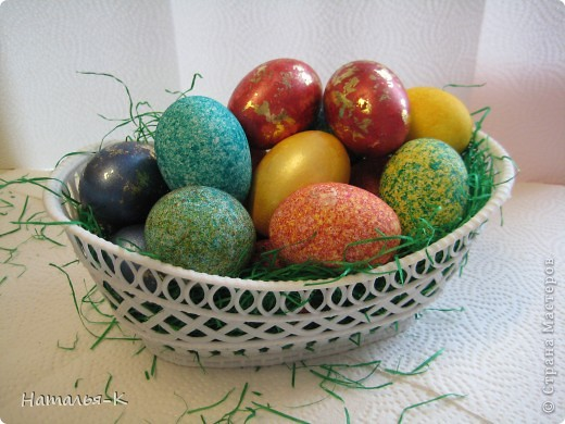 Мастер-класс: Покраска яиц. Краска Пасха. Фото 1