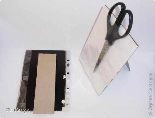 Мастер-класс Бумагопластика: Фоторамка настольная Бумага гофрированная. Фото 3