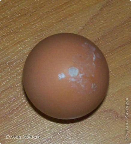 Мастер-класс, Поделка, изделие: Пасхальные яйца ( заготовки с монтажной пеной) Скорлупа яичная Пасха. Фото 5