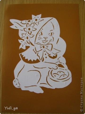 Поделка, изделие Вытынанка: ...весняні й Великодні витинанки... Бумага Пасха. Фото 10