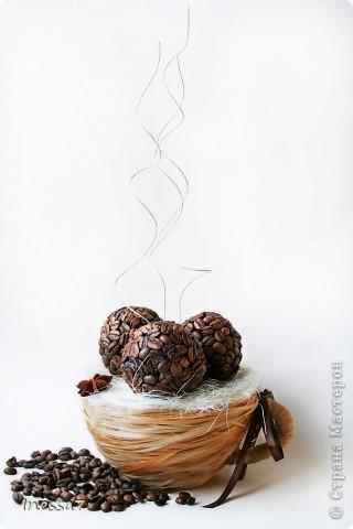 Мастер-класс Моделирование: кофейная чашка из лыко Клей, Лыко, Пенопласт, Проволока, Продукты пищевые. Фото 18