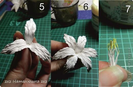 Лилии из бумаги своими руками скрапбукинг