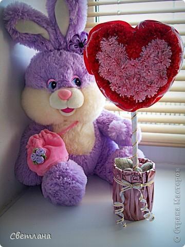 Мастер-класс, Поделка, изделие Квиллинг: ♥ С любовью... (мини МК) 8 марта, Валентинов день, День матери, День рождения. Фото 1