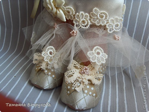 Куклы Шитьё: Свадебные куклы. Ткань Свадьба. Фото 4