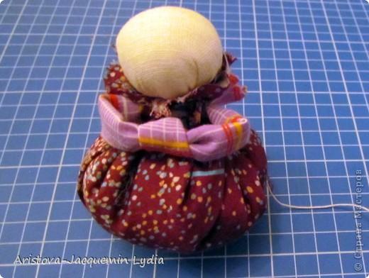Куклы, Мастер-класс: Хозяюшка –Благополучница - по мотивам традиционной народной куклы Ткань. Фото 10