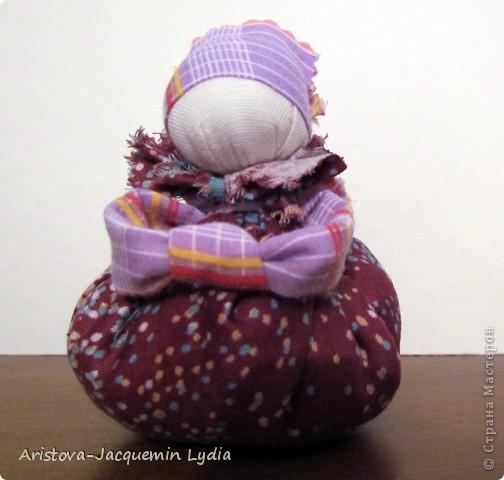 Куклы, Мастер-класс: Хозяюшка –Благополучница - по мотивам традиционной народной куклы Ткань. Фото 11