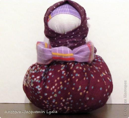 Куклы, Мастер-класс: Хозяюшка –Благополучница - по мотивам традиционной народной куклы Ткань. Фото 12