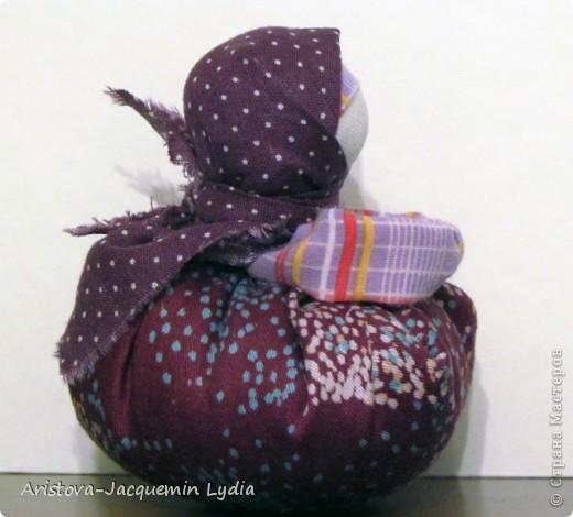 Куклы, Мастер-класс: Хозяюшка –Благополучница - по мотивам традиционной народной куклы Ткань. Фото 13