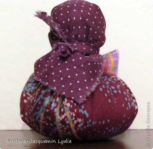 Куклы, Мастер-класс: Хозяюшка –Благополучница - по мотивам традиционной народной куклы Ткань. Фото 14