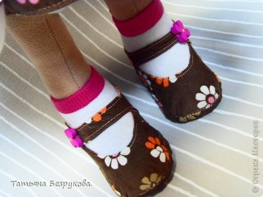 Игрушка, Куклы Шитьё: Кукла девочка  Лизонька... Ткань. Фото 4