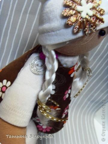 Игрушка, Куклы Шитьё: Кукла девочка  Лизонька... Ткань. Фото 5