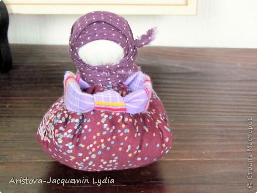 Куклы, Мастер-класс: Хозяюшка –Благополучница - по мотивам традиционной народной куклы Ткань. Фото 16