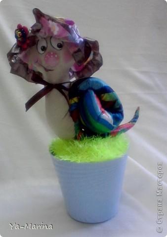 Интерьер, Куклы Шитьё: Улиточка-Цветочек! Ткань. Фото 1