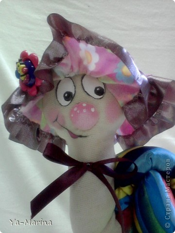 Интерьер, Куклы Шитьё: Улиточка-Цветочек! Ткань. Фото 2