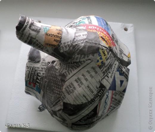 Декор предметов, Картина, панно, Мастер-класс Декупаж, Моделирование, Папье-маше: УРА!!! Я сделала ЭТО!!! + МК Бумага журнальная, Пенопласт, Салфетки. Фото 5