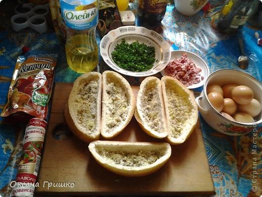 Мастер-класс Рецепт кулинарный: ВКУСНО,БЫСТРО,СЫТНО,НЕ ДОРОГО!Оригинальные греночки с яйцом. Продукты пищевые. Фото 2