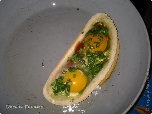 Мастер-класс Рецепт кулинарный: ВКУСНО,БЫСТРО,СЫТНО,НЕ ДОРОГО!Оригинальные греночки с яйцом. Продукты пищевые. Фото 9