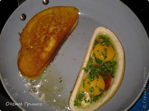 Мастер-класс Рецепт кулинарный: ВКУСНО,БЫСТРО,СЫТНО,НЕ ДОРОГО!Оригинальные греночки с яйцом. Продукты пищевые. Фото 11