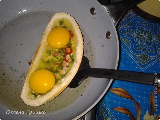 Мастер-класс Рецепт кулинарный: ВКУСНО,БЫСТРО,СЫТНО,НЕ ДОРОГО!Оригинальные греночки с яйцом. Продукты пищевые. Фото 10
