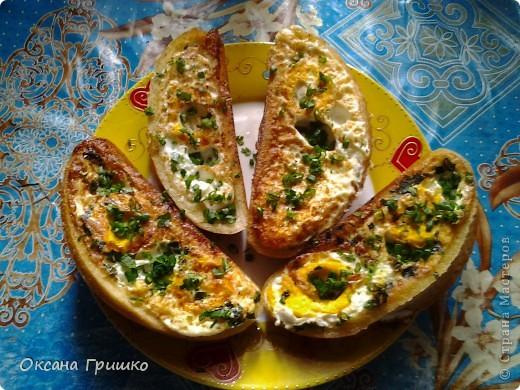 Мастер-класс Рецепт кулинарный: ВКУСНО,БЫСТРО,СЫТНО,НЕ ДОРОГО!Оригинальные греночки с яйцом. Продукты пищевые. Фото 1
