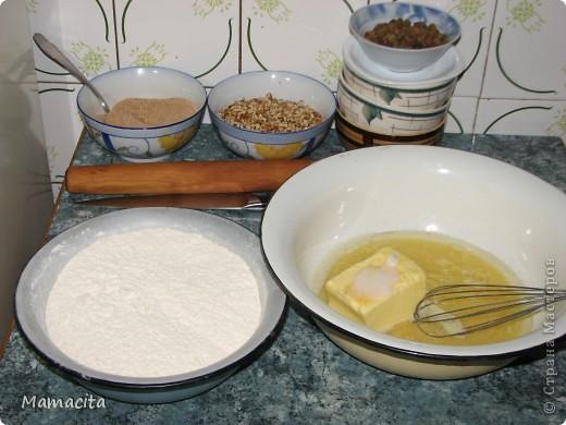 Кулинария, Мастер-класс: Песочные рулетики с изюмом и орехами. МК Вкусно, просто, быстро!. Фото 3