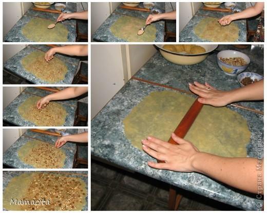 Кулинария, Мастер-класс: Песочные рулетики с изюмом и орехами. МК Вкусно, просто, быстро!. Фото 5
