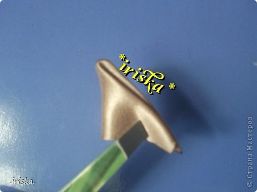 Мастер-класс, Украшение Цумами Канзаши: МК Необычный круглый лепесток Ленты, Ткань. Фото 6